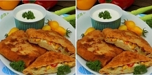Koperty naleśnikowe a'la pizza♥♥♥ Składniki: na ciasto: 3 szklanki mleka, 300 g mąki, 3 jajka, 1/3 łyżeczki soli... Na nadzienie: 200 g kiełbasy, cebula, 200 g mozzarelli, ...