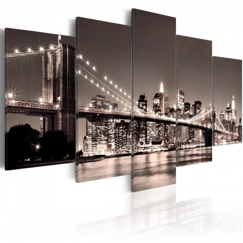 Obraz - Manhattan-Most Brookliński II   bogatewnetrza.pl