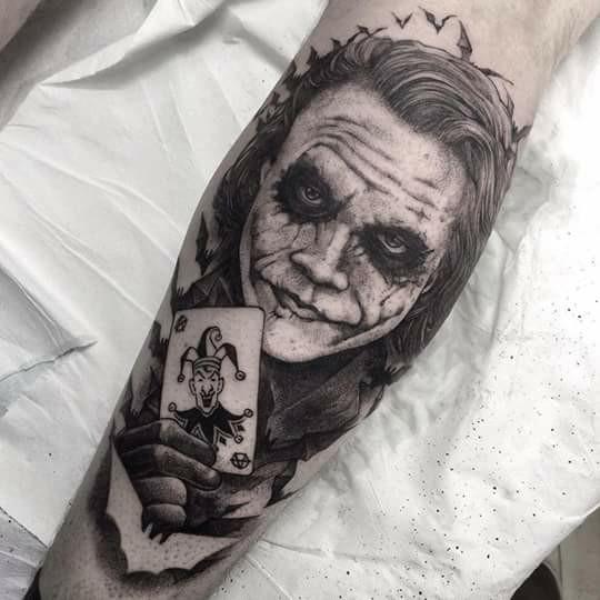 Tatuaz Joker Karta