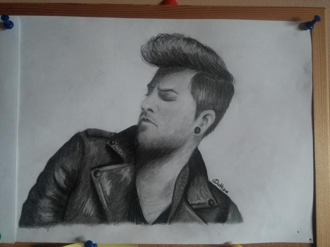 "Adam Lambert moje ""dzieło"" dusskaofficial.blogspot.com"