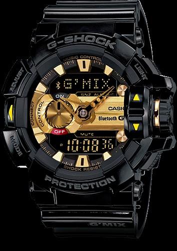 6480c0a8cbe03d Męski Gshock złoto czarny Casio GBA-400-1A9 Możliwość zakupu, .. na ...