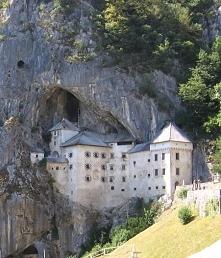 Słowenia, zamek Predjama