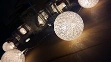 cotton balls light