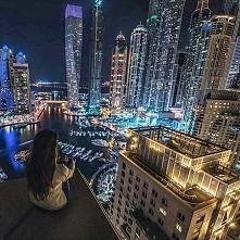 Dubaj nocą <3