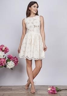 sukienka z lnu - krakowiank...