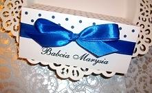 Winietki SPOTTY: biel i błękit paryski :)  Masz pytania? Pisz! :) kraina_czarow@interia.pl