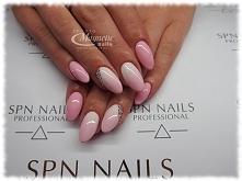 Pastelowe Ombre z cyrkoniami Sv  Nails by Olga, Studio Magnetic Nails Monika ...