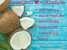 Mleczko kokosowe!