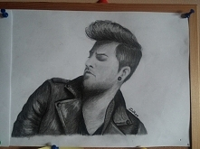 """Adam Lambert moje """"dzi..."""