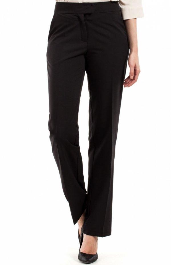BEWEAR BW057 spodnie czarne Eleganckie spodnie, klasyczny