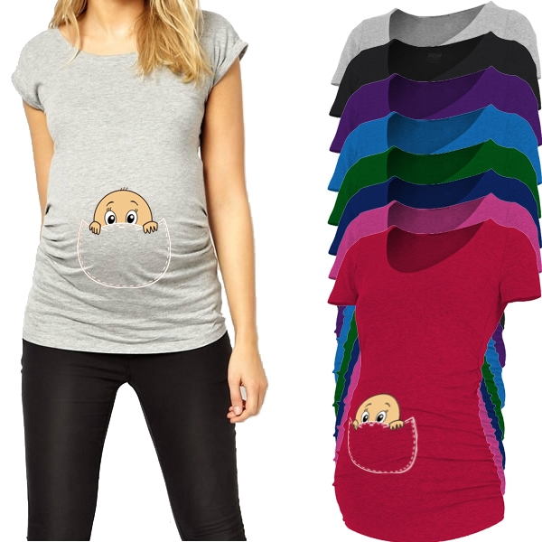 Bluzka ciążowa Peek-Boo