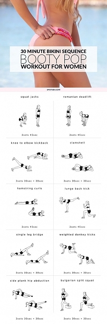 Booty pop workout