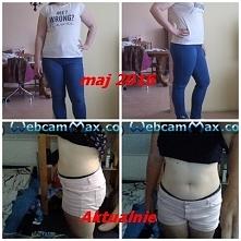 w marcu 2016 (na zdj pomylka ) ważyłam 100 kg aktualnie warzę 89/90 tak więc ...