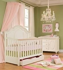 łóżeczko małej księżniczki:-)