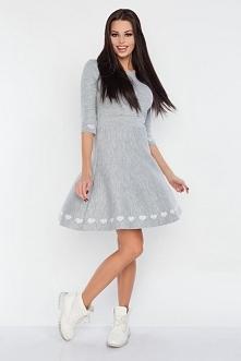 Wyjątkowa sukienka z delika...