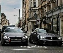 BMW M4 i Mercedes C63 AMG