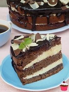 Torcik mleczny *tortownica 21 cm: Składniki: na ciasto: 250 g masła 1 szklanka cukru 1 i 1/2 szklanki mleka 4 szklanki mąki łyżeczka sody łyżeczka proszku do pieczenia 2 łyżki k...
