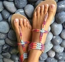 Sandałki boho