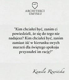 K.Rowińska, Architekci umysłu