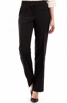 BEWEAR BW057 spodnie czarne Eleganckie spodnie, klasyczny fason, proste nogawki na kant, po bokach kieszenie