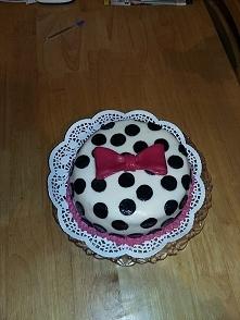 Tort w kropki :)
