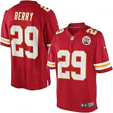 Men's Kansas City Chiefs Nike NFL Limited Eric Berry Red #29 Jerseys Home