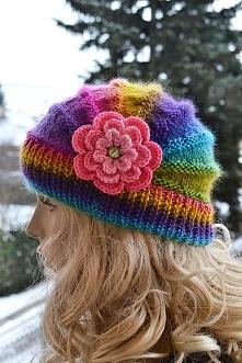 Kwiatek czapka