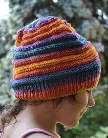 ręcznie robiona czapka