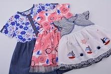 Nowa dostawa - sukienki dla dziewczynek w różnym wieku. Zobacz.