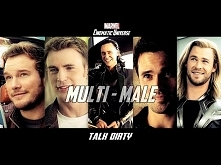 MultiMale Marvel Cinematic Universe // Talk Dirty