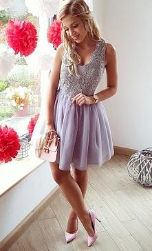 Tiulowa sukienka Honey Illuminate