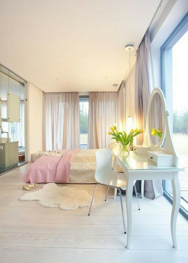 śliczna Sypialnia I Ta Toaletka V Na Dom Marzeń 3