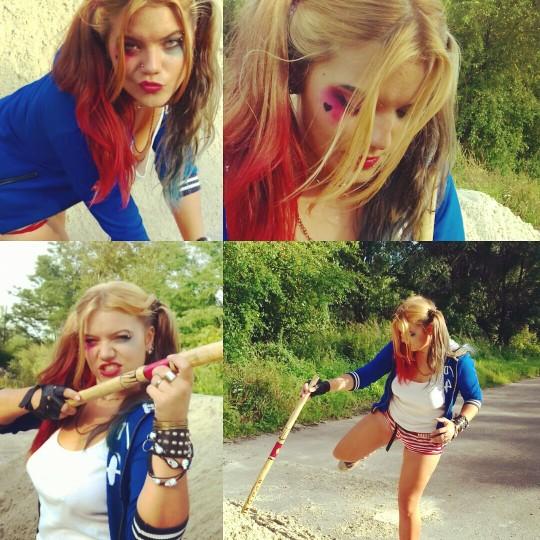 9bac75a00bbb8 Charakteryzacja Harley Quinn Suicide squad Legion samobójców, w.. na ...