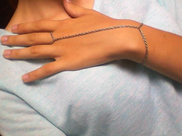 Jak wam się podobają takie bransoletki? Mnie osobiście bardzo ☺ Tutaj chain ring mojego wykonania ☺