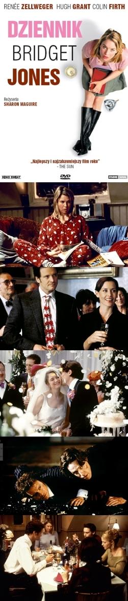 Dziennik Bridget Jones / Bridget Jones's Diary (2001) - Ten film obejrzałam dopiero wczoraj! Słyszałam o jego fenomenie. Mnie jednak jakoś baaardzo nie zachwycił. Jest podobny do innych filmów tego typu. Zaskoczyła mnie końcówka. Według mnie świetna komedia do obejrzenia w deszczowy wieczór.