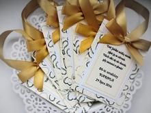 Zawieszki z kolekcji HEARTS: biel-krem-złoto :)  Masz pytania? Pisz! :) kraina_czarow@interia.pl