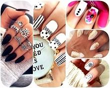 Nails <3 Naklejki na paznokcie :)