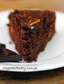 Czekoladowo-pomarańczowe ciasto Nigelli - Wypieki Beaty