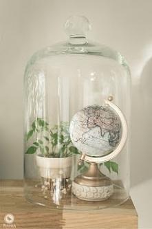 Metamorfoza globusu. Tutorial na moim blogu