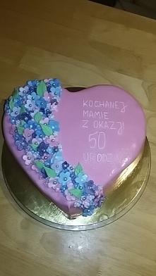 kolejny tort mojej roboty ^^ :)