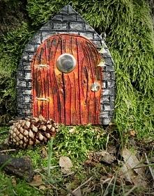 Zamkowe drzwi