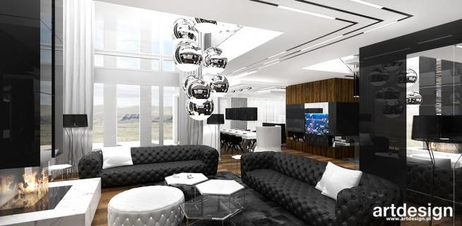 luksusowe wnętrze domu - projekt salonu | JUST DO IT!