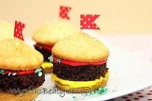 Babeczki hamburgery