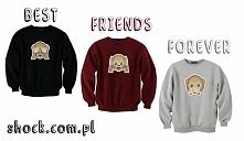bluzy przyjaźni BEST FRIENDS FOREVER monkeys - modne bluzy dla przyjaciół / bluzy dla przyjaciółek - super pomysł na prezent dla przyjaciółki / dla przyjaciela - bluzy dla przyj...