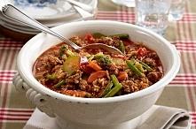 """Kociołek """"Toskański""""  Szybki w przygotowaniu - ok 30 min Jedynie 540 kcal na porcję I co najważniejsze - palce lizać :)  Przepis po kliknięciu w zdjęcie :)"""