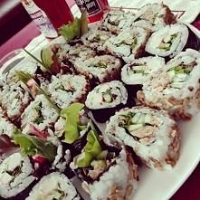 domowe sushi, najlepsze pod...