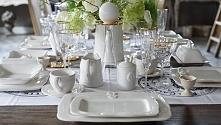 dekoracje firmy Belldeco w BelleMaison pięknie nakryty stół, dekoracyjna ceramika