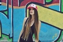 czapka i włosy