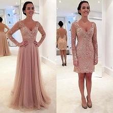 dwie sukienki w jednej