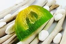Naturalne mydło cytryna limonka z gąbką loofah dostępne link w komentarzu